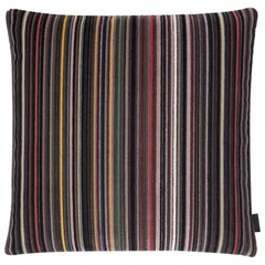 Maharam Pillow, Epingle Stripe by Paul Smith
