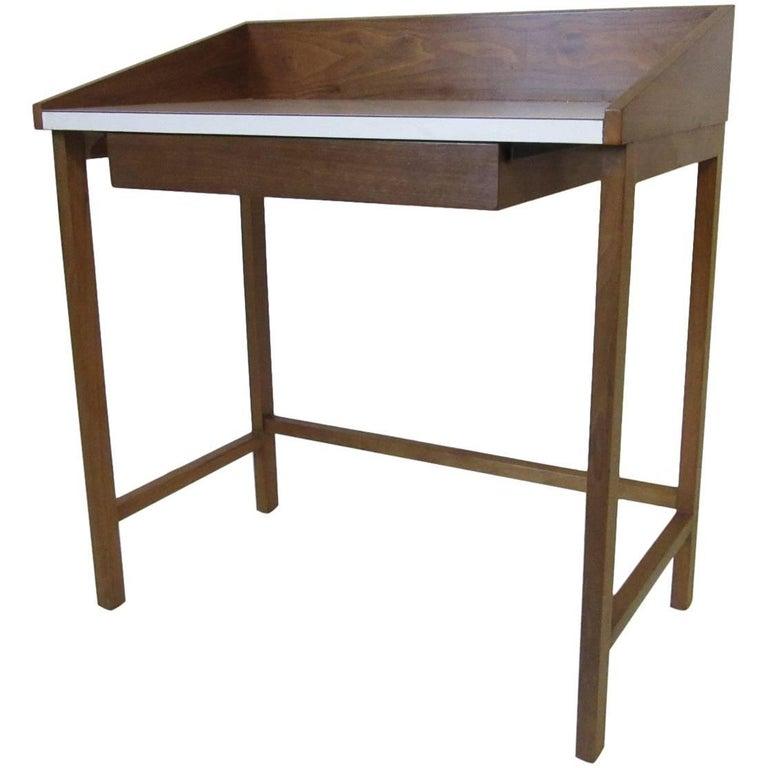 Rare Dunbar Small Vanity or Makeup Table by Edward Wormley