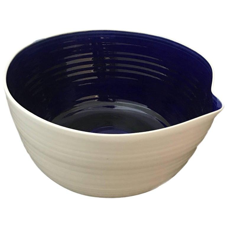 Israeli Artisan Hand-Thrown Studio Pottery Bowl