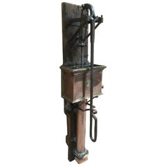 French Antique Kitchen Water Pump, 19th Century, France