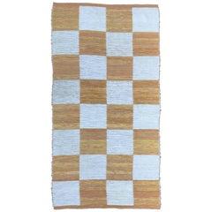 Swedish Svenskt Tenn Flat-Weave Cotton Carpet, 1975
