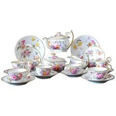 Part Tea Set Nantgarw Porcelain, circa 1815