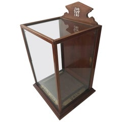 Rare Display Cabinet or Desk Display for Swan Ink, Early 20th Century