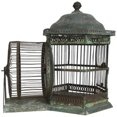 Antique Architectural Hamster Cage, Turn of the Century