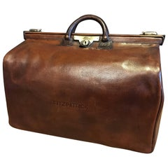 Leather Gladstone Bag, 1920s