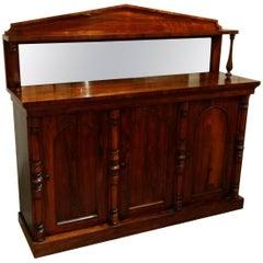 19th Century English Rosewood Server