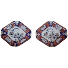 Pair of Imari Plates, 19th Century