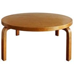 1940s Alvar Aaalto Low Round Coffee Table