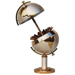 Mid-20th Century Brass Globe Cigarette Holder