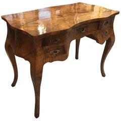 Italian Olive Wood Desk