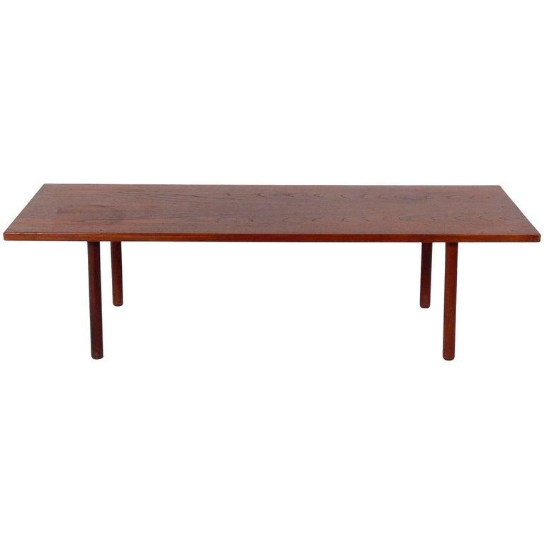 Danish Modern Coffee Table by Hans Wegner For Sale