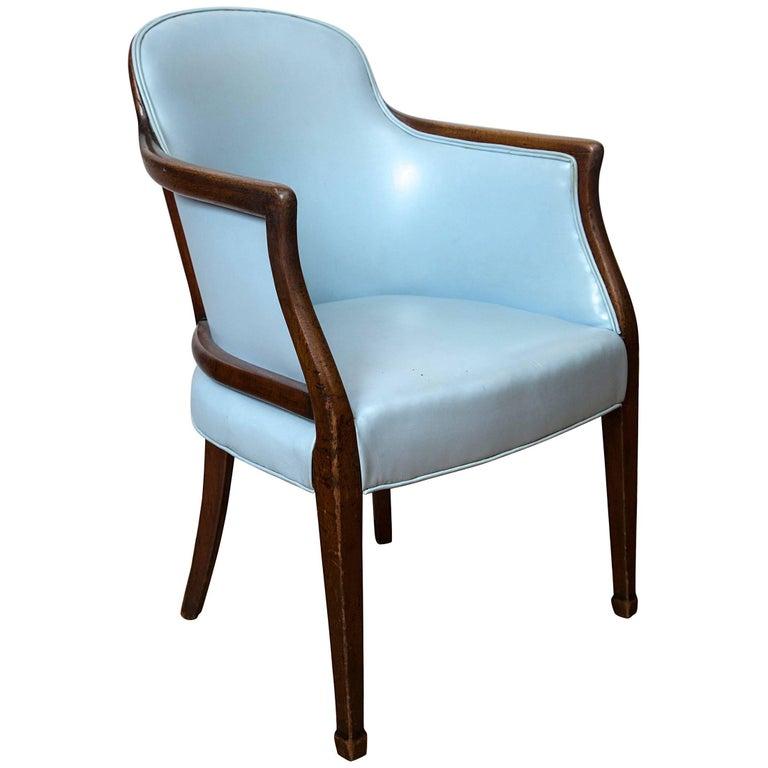 18th Century Hepplewhite Tub Chair For Sale