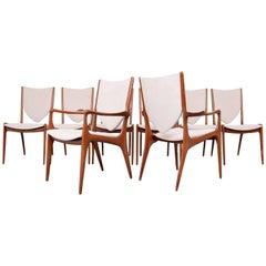 "Vladimir Kagan ""Shield Back"" Dining Chairs, Set of Eight"