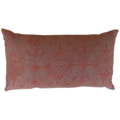 Fortuny Pillow with vintage fabric