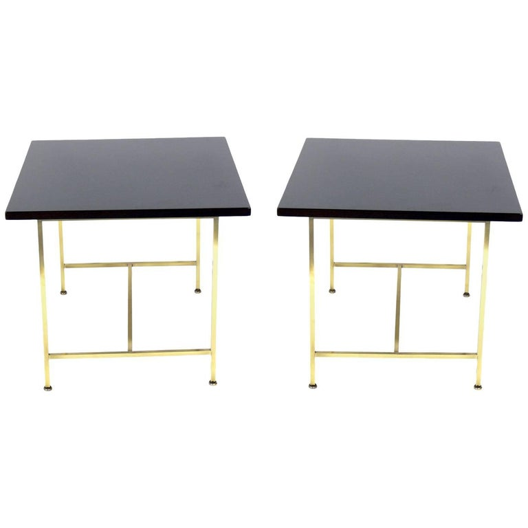 Pair of Clean Lined Tables by Paul McCobb