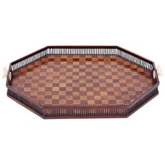 Antique British Colonial Serving Tray