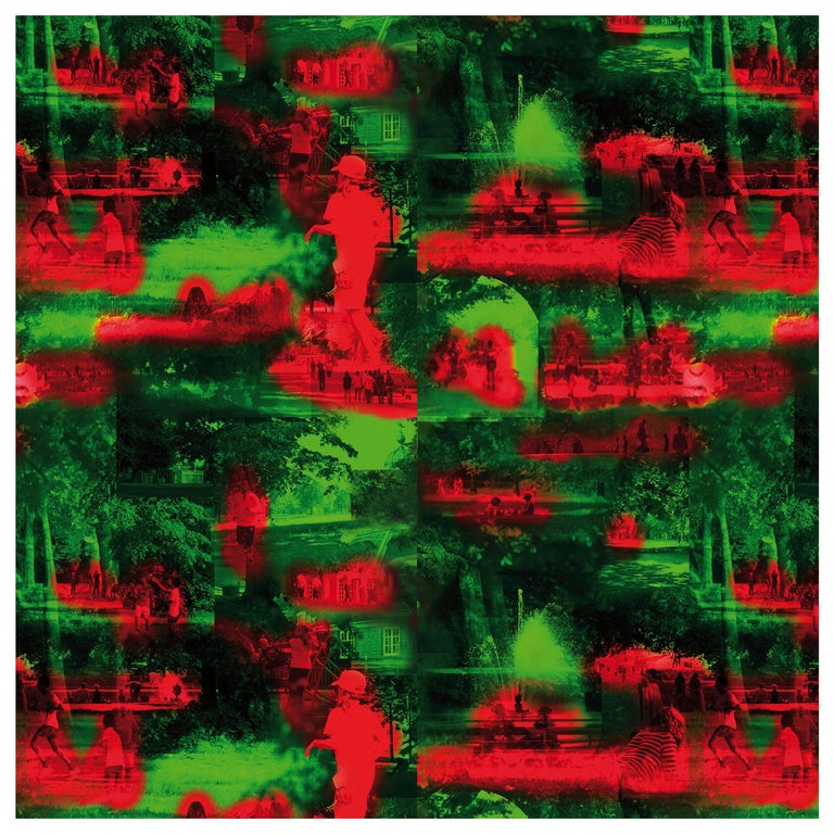 Maharam Serpentine Galleries Wallpaper by Jean Nouvel For Sale