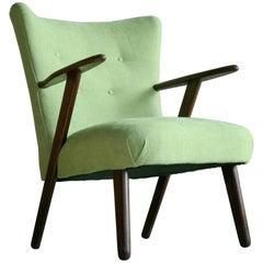 Kurt Olsen Style Danish 1950s Lounge or Cocktail Chair in Teak