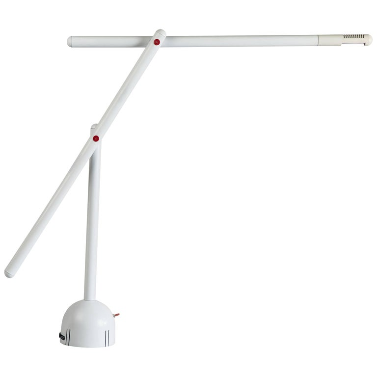 Articulated Mira Table Lamp by Mario Arnaboldi For Sale
