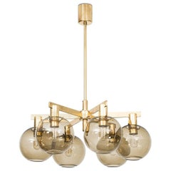 Hans-Agne Jakobsson Ceiling Lamp T-348/6 by Hans-Agne Jakobsson AB