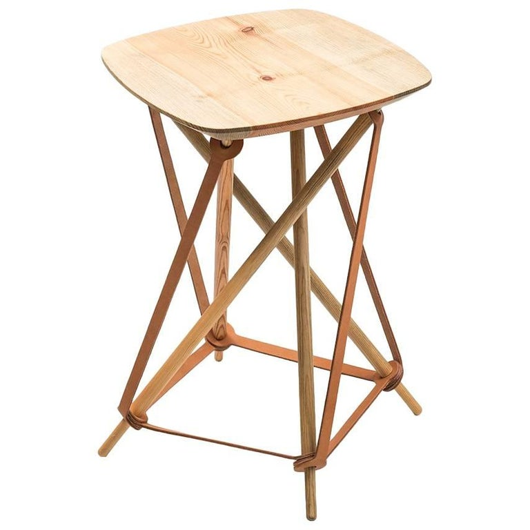 Stool or Side Table Produced by Lith Lith Lundin in Sweden