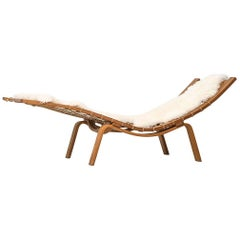 Hans Wegner Lounge Chair Model GE-2 Hammock by GETAMA in Denmark