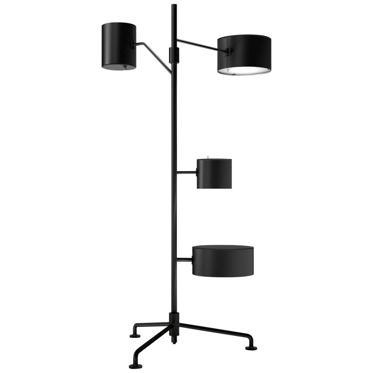 Moooi Statistocrat Floor Lamp with Integrated Side Table in 25 Color Options