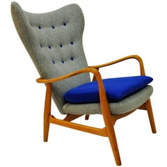 Norwegian Easy Chair from 1950`s by Madsen & Schubell - Vik & Blindheim