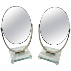 Two Charles Hollis Jones Vanity Mirrors