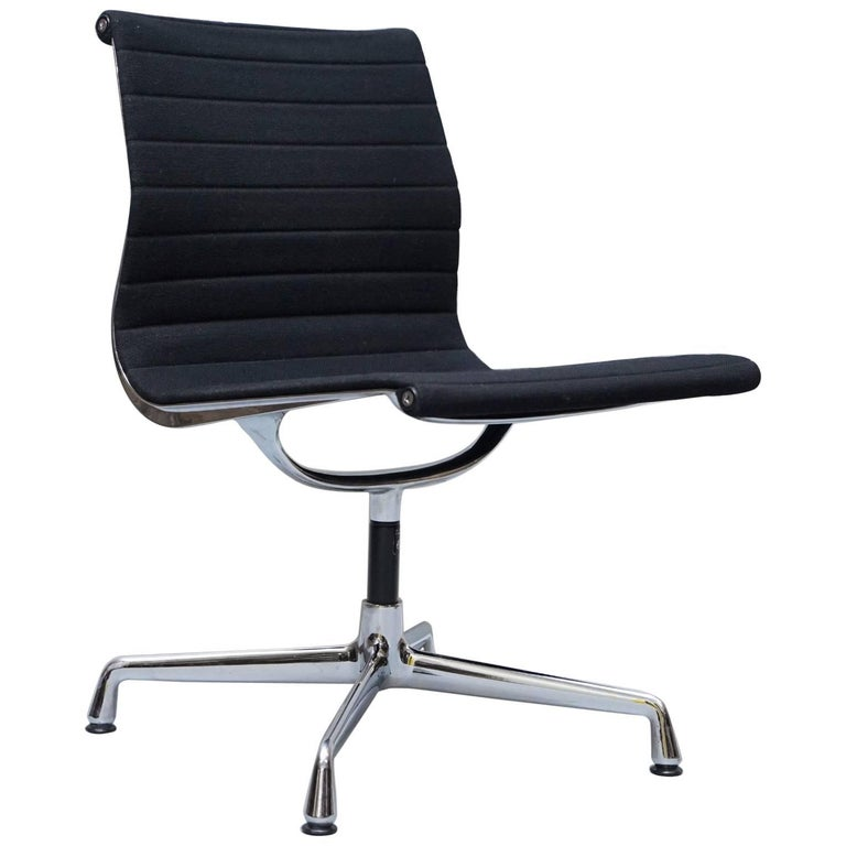 original ea101 vitra eames black hopsak office conference chair for sale at 1stdibs. Black Bedroom Furniture Sets. Home Design Ideas
