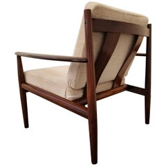 Rosewood Lounge Chair by Grete Jalk