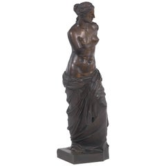 "Monumental Grand Tour Bronze Sculpture of the ""Venus De Milo"""