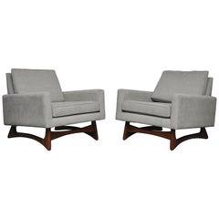 "Adrian Pearsall ""Gondola"" Lounge Chairs"