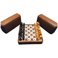Mark Cross Miniature Travel Chess Set