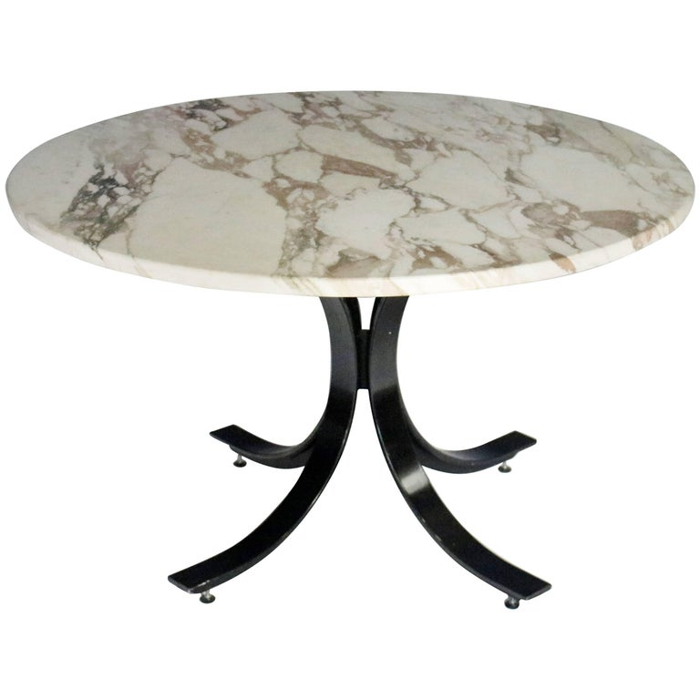 Table in the style of Osvaldo Borsani and Eugenio Gerli