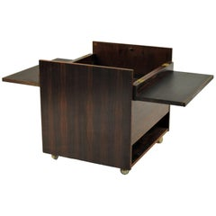 1960s Danish  Modern Bar Cabinet in Rosewood from Randers Mobelfabrik