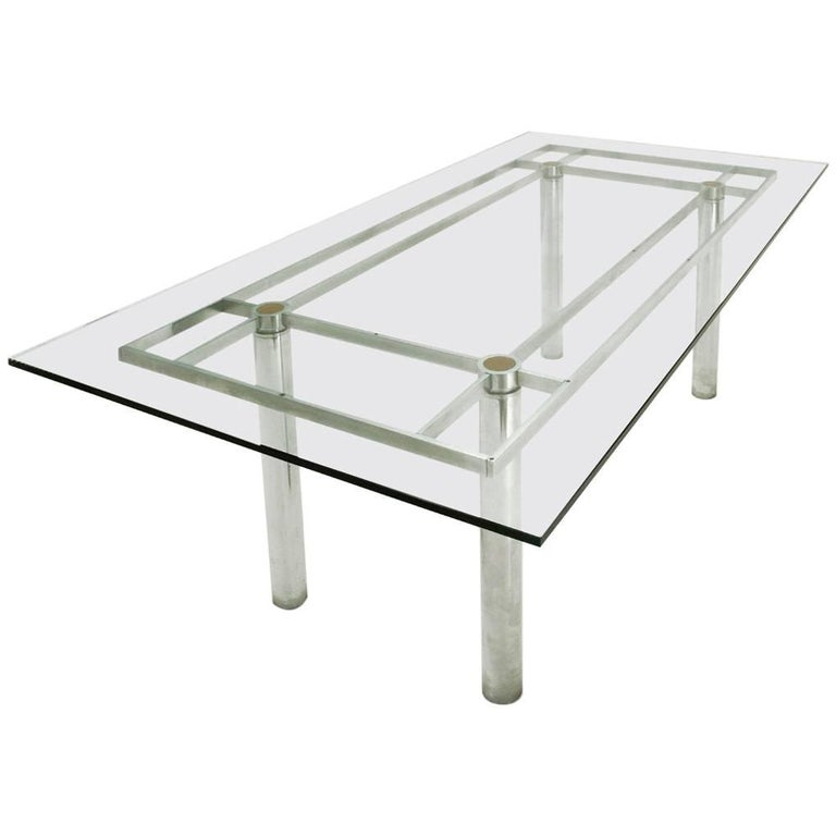 Andrè Rectangular Dining Table by Tobia Scarpa for Gavina/Knoll