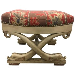Continental Dolphin Form Stool
