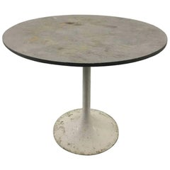 Slate Top Tulip Dining Table