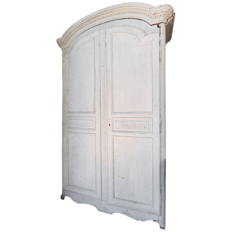 Period Louis XVl Painted Armoire 1