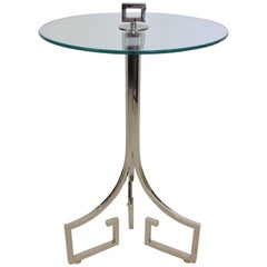 Greek Key Drinks Table