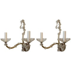 Pair of Vintage French Maria Theresa Style Sconces