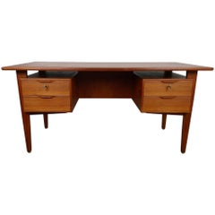 Midcentury Danish Teak Desk from the 1960s