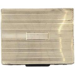 Streamline Sterling Silver Cigarette Case with Dispenser