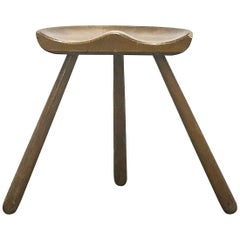 Early 1940s Modern Style Milking Stool