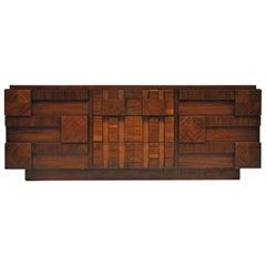 Lane Brutalist Mosaic Dresser