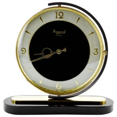 French Art Deco Swivelling Clock by Bayard, 1930s