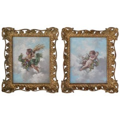 Pair of Cherubs