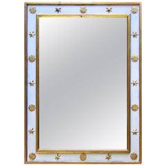 Adnet Style Art Deco Mirror, France, 1940s