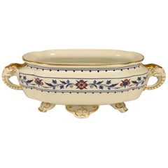 Dr C Dresser, Attributed Made by Royal Worcester, Blue & White Elephant Tureen